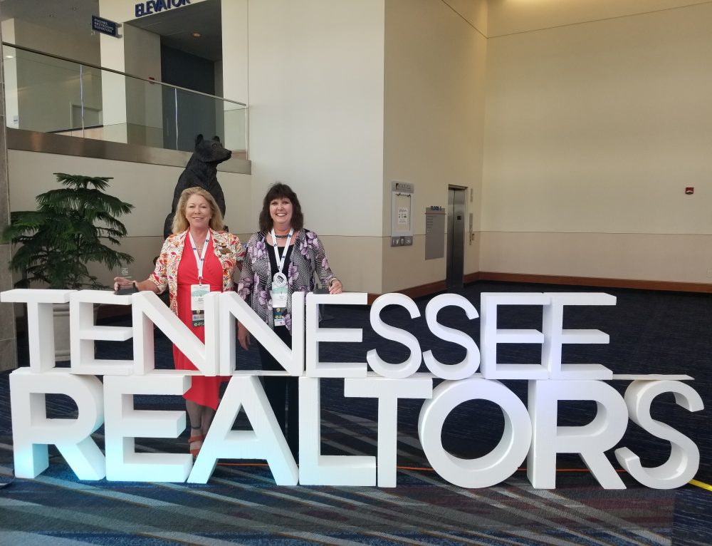 Aggers, Guy Recognized at Tennessee Realtors Fall Convention as Knoxville Leaders, 2018 Tennessee RRC