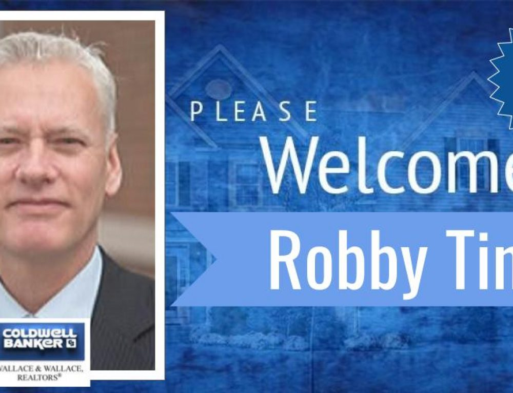 Robby Tindell joins Coldwell Banker Wallace & Wallace, REALTORS®