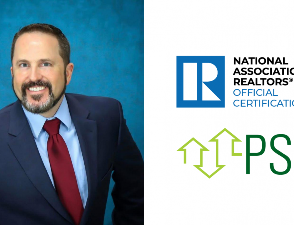 Real Estate Professional Phil Tyre Earns NAR Pricing Strategy Advisor Certification