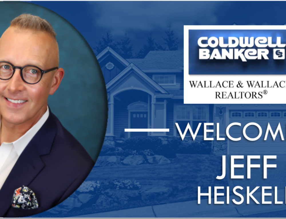 Jeff Heiskell joins Coldwell Banker Wallace & Wallace, REALTORS®