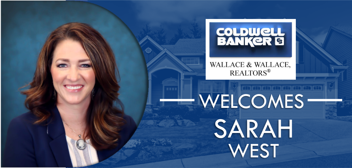 Sarah West joins Coldwell Banker Wallace & Wallace, REALTORS®